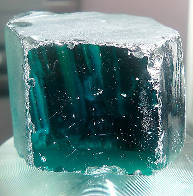 Teal Blue 635 Carats Cubic Zirconia Facet Rough