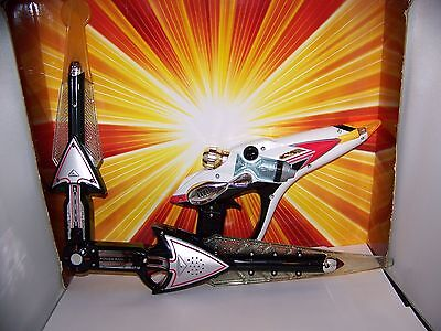Power Rangers Time Force Lot Chrono-Saber + Chrono-Blaster Roleplay Cosplay