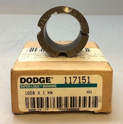 Dodge Taper Lock Bushing 117151 *NEW*