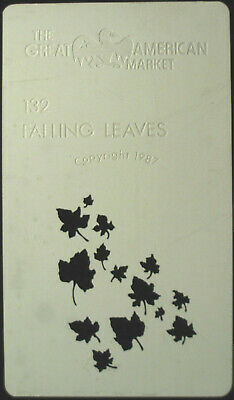 "Gobo template Mini pattern - GAM 132 ""Falling Leaves"""