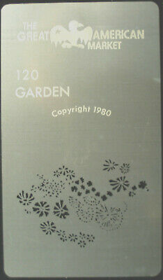 "Gobo template Mini pattern - GAM 120 ""Garden"""