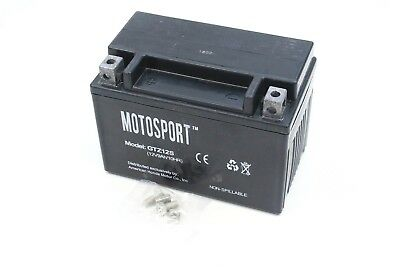 GTZ12-S (YTZ12S) Absorbed Glass Mat MF Honda Motosport Battery AGM GTZ12S#P185 B