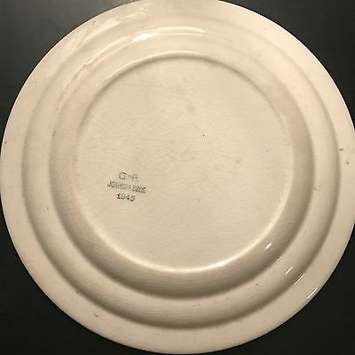 A lovely WW2 British Army Mess Plate 1945 Dated