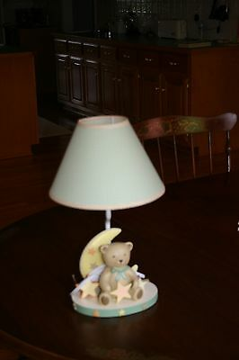Lambs and Ivy dream teddy lamp