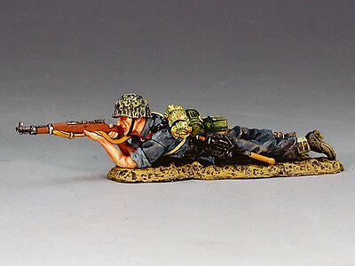 King and (&) Country LW024 - Lying Firing Rifleman - Retired