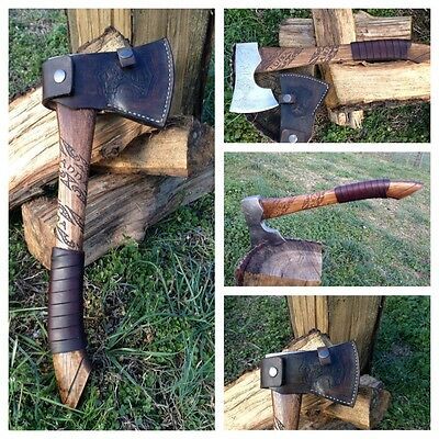 Viking Bearded Camp Axe