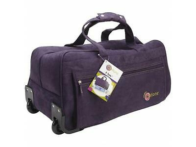 Creative Options Carrying Case Rolling Tote for Electronic Paper Cutter - Purple