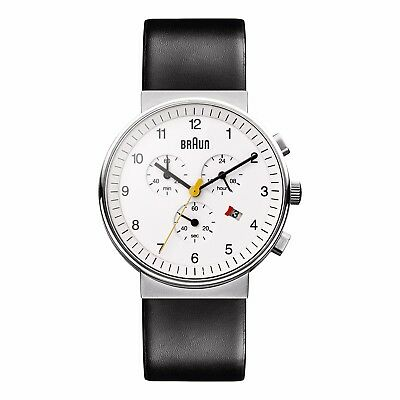 Braun Gents Quartz Chronograph Movement Watch BN0035WHBKG