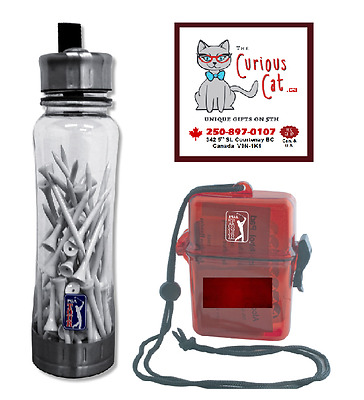 PGA Water bottle, filled with tee's, and 1st aid kit. in canada 250-897-0107