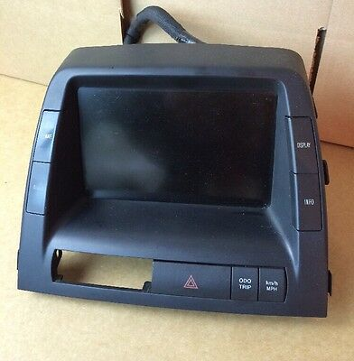 2006-2009 TOYOTA PRIUS MFD INFO DISPLAY SCREEN 86110-47230 w/ BACK UP CAMERA