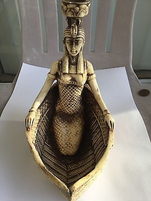 Unique Ancient Egyptian Antique Winged Goddess Isis For Protection,Love Hanmade