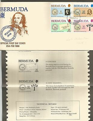 Rowland Hill   Fdc   25.2.80