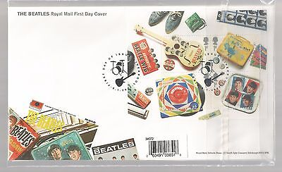 BEATLES ROYAL MAIL MINT STAMPS & FDCs