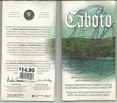 Thematic Collection   # 77  Caboto Stamp & Coin Set