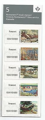 2017 Canada Post Permanent Strip Of 5 In Sealed Pack