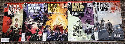 BPRD: Hell on Earth: The Return of the Master # 1-5 COMPLETE SET Unread