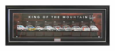 Peter Brock King Of The Mountain 505 Limited Edition Signed Litograph Framed Coa