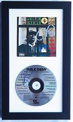 Chuck D Public Enemy Signed Autograph Booklet + CD It Takes A Nation Of Millions