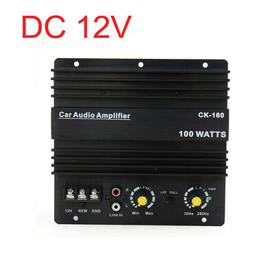 12V Audio Stereo Power Digital Amplifier Board Module for Auto Car