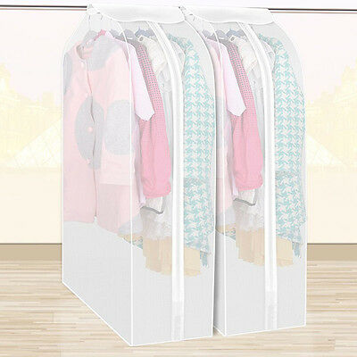 Clothing Garment Dress Suit Coat Cover Dust Protector Wardrobe Home Storage Bag