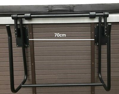 Spa Cradle Mount Hot Tub Cover Lifter - Basket Holder Easy One Hand Gas Assist