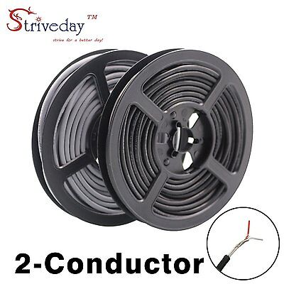 "Strivedayâ""¢ 2547 28 AWG 5 Meter Grey 2-core Control Cable Copper Wire Shielded"