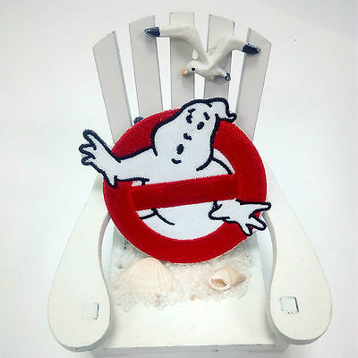 Ghostbusters Embroidered Sew On Patch Fancy Dress Costume T Shirt Bag Badg