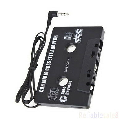 Pair Car Music Audio Cassette Tape Aux Adapter 3.5mm Plug iPhone iPod MP3 Player