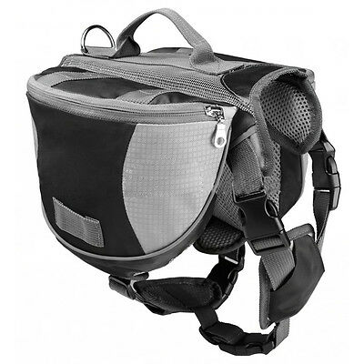 R12 Pet Backpack Dog Saddlebags Medium and Large Dogs Harness Bag Ideal for Outd