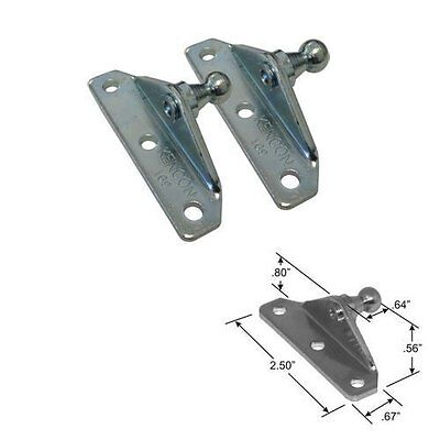 10MM Ball Stud Bracket for Gas Spring/Prop/Strut 2 Pack Model: Car/Vehicle