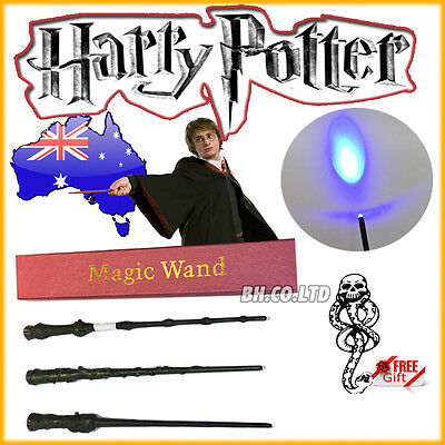 Harry Potter Gryffindor Hermione Dumbledore Magic LED Light Wand with Box Tattoo
