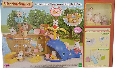 Sylvanian Families 5212 Adventure Treasure Ship Gift Set NEU & OVP