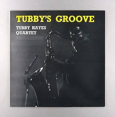 "The Tubby Hayes Quartet - Tubby's Groove - NEAR MINT- UK 12"" Vinyl LP - 6309 002"
