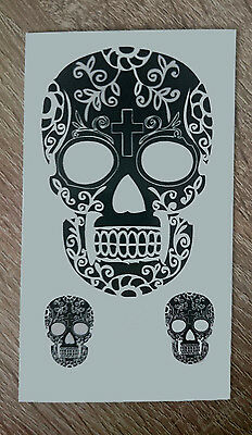 10x6cm-Sheet-High-Quality-Fake-Tattoo-Skull-Waterproof-Party-Temporary