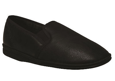 New Grosby Sterling Mens Comfortable Indoor Slippers