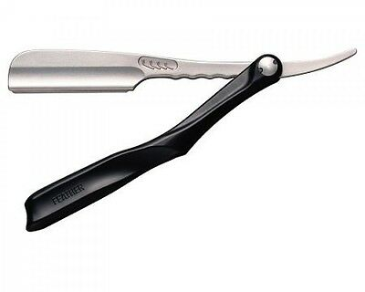 FEATHER Professional Artist Club SS Straight Razor Black with tracking