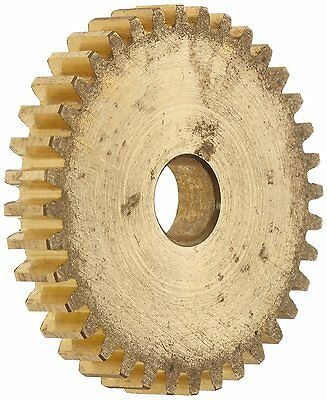 Boston Gear G181 Spur Gear, 14.5 Pressure Angle, Brass, Inch, 32 Pitch, 0.312""