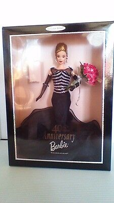 New 1999 40th Anniversary Barbie Doll #21384 Collector Edition
