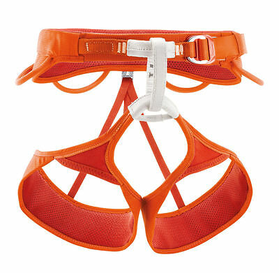 Petzl Sama Rock Climbing Sit Harness with Elasticised Leg Loops