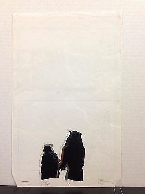 Spawn Original Production Animation Cel with Production Drawing HBO