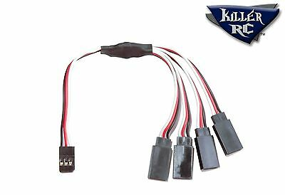 Killer RC 4-Way Splitter Cable KRC-AC-4WAY