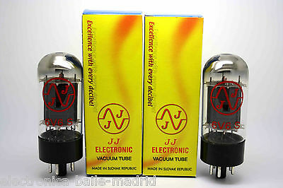 Jj Electronic 6V6S Matched Pair Vacuum Tube Amp Tested - 6V6