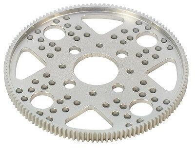 "Actobotics 32P, 128T Aluminum Hub Gear (1"" bore) #615238"