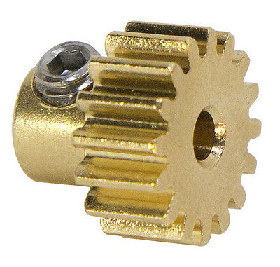 "1/8"" Bore, 32 Pitch, 16 Tooth Gearmotor Pinion Gear by Actobotics"
