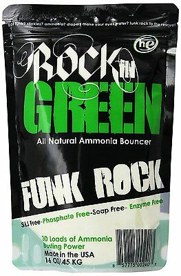 Rockin Green Funk Rock Ammonia Bouncer Detergent, 16 Fluid Ounce