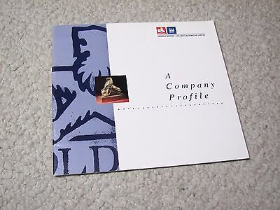 """GM-HOLDEN'S """"A COMPANY PROFILE"""" BOOKLET FROM 1992....rare"""