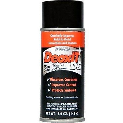 DeoxIT D-Series Contact Cleaner & Rejuvenator (142g)
