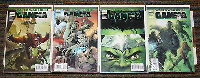 World War Hulk: Gamma Corps COMPLETE SET #1-4