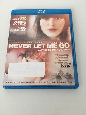 never let me go // blu-ray // no dvd // item #2408