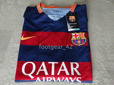 New Authentic FC Barcelona Match Jersey Shirt Soccer Player issue Nike Vapor 2XL